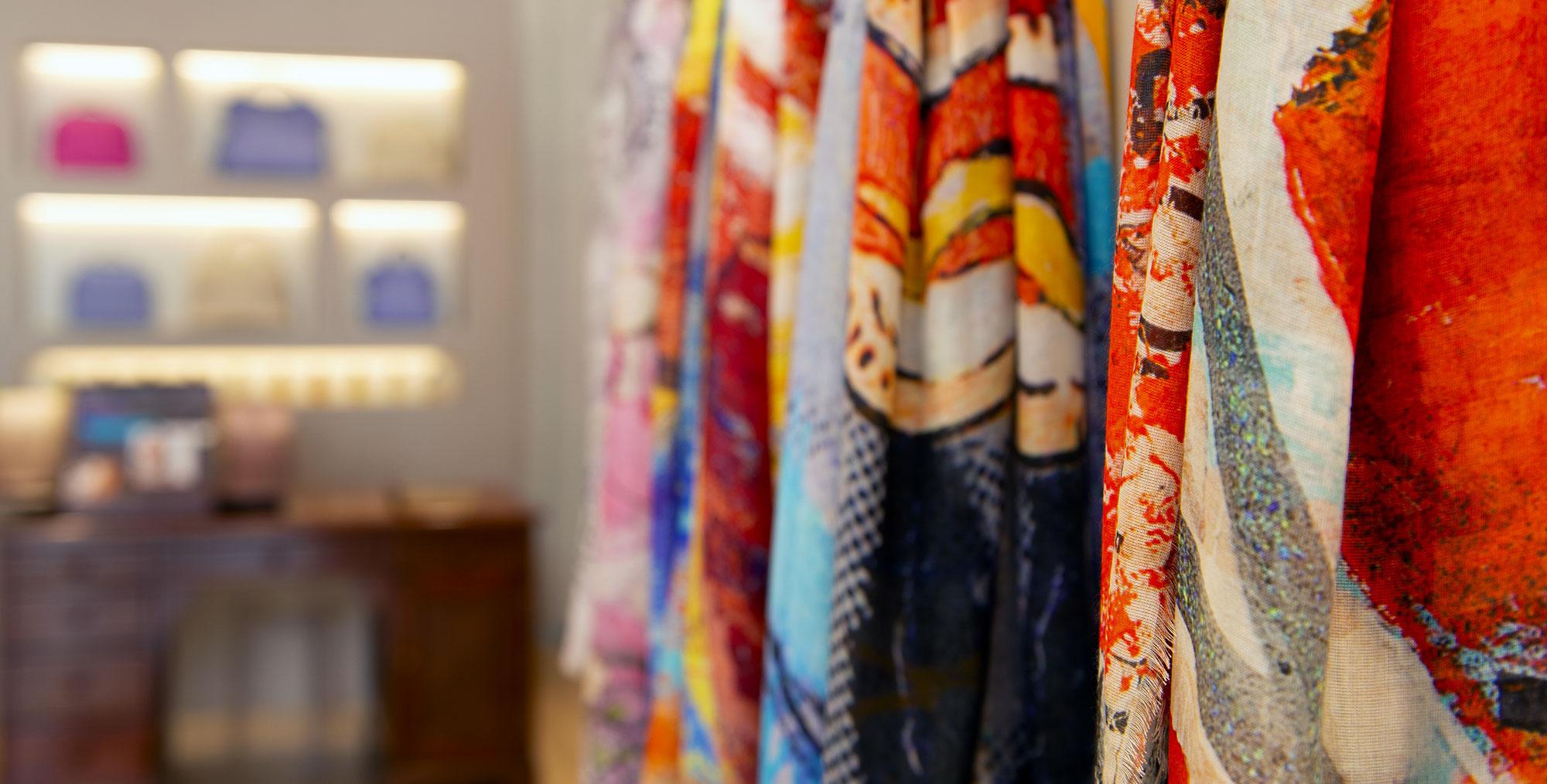 Negozio accessori moda di lusso