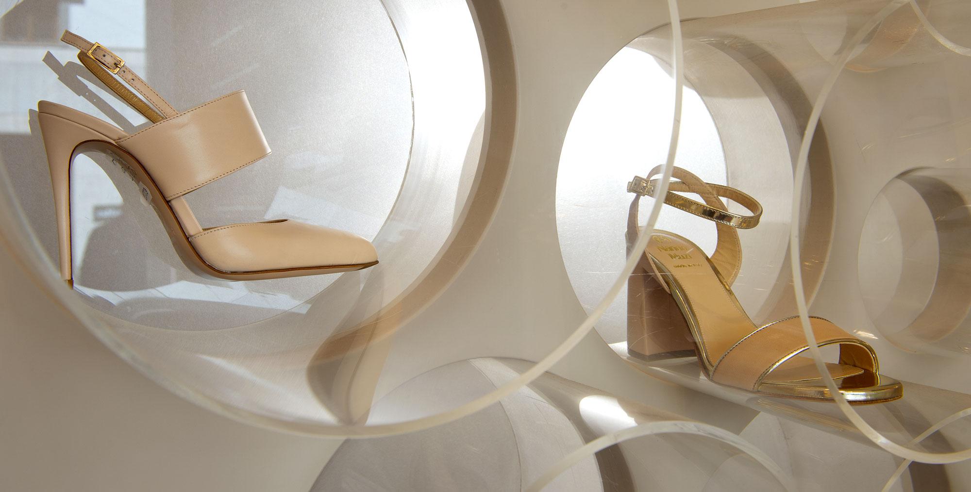 Negozio scarpe eleganti Milano